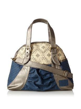 65% OFF amykathryn Women's Gladiola Carry-All Shoulder and Diaper Bag, Navy