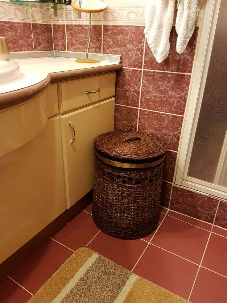 Newspaper laundry basket