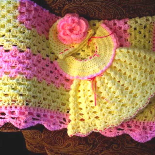 351 best images about Crochet baby dresses on Pinterest ...