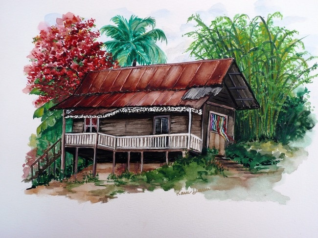 OLD COCOA HOUSE By KARIN DAWN BEST