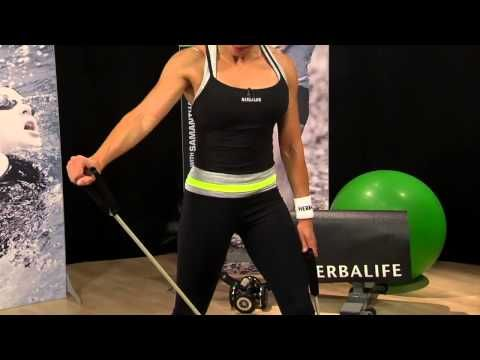 RESISTANCE BAND WORKOUT Samantha Clayton's Body Blast Herbalife Fit Tips - YouTube