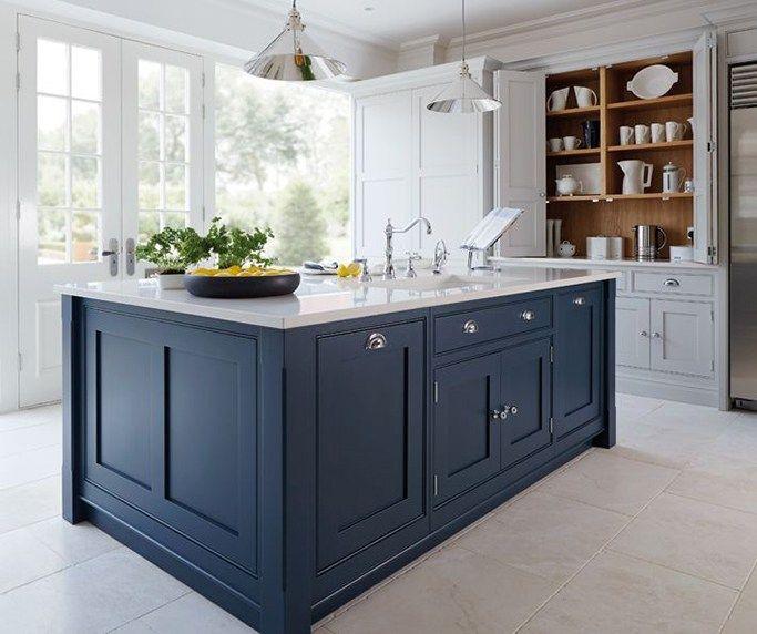 1000 Ideas About Green Kitchen Walls On Pinterest: 1000+ Ideas About Dark Blue Kitchens On Pinterest