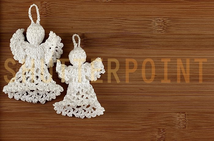 Christmas angel decoration photo - ShutterPoint Photography