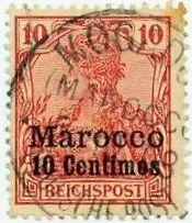 Für einen reibungslosen Postverkehr mit Deutschland wurden in Marokko deutsche Postämter errichtet; diese arbeiteten von 1899 bis 1914 im französischen und bis 1919 im spanischen Gebiet