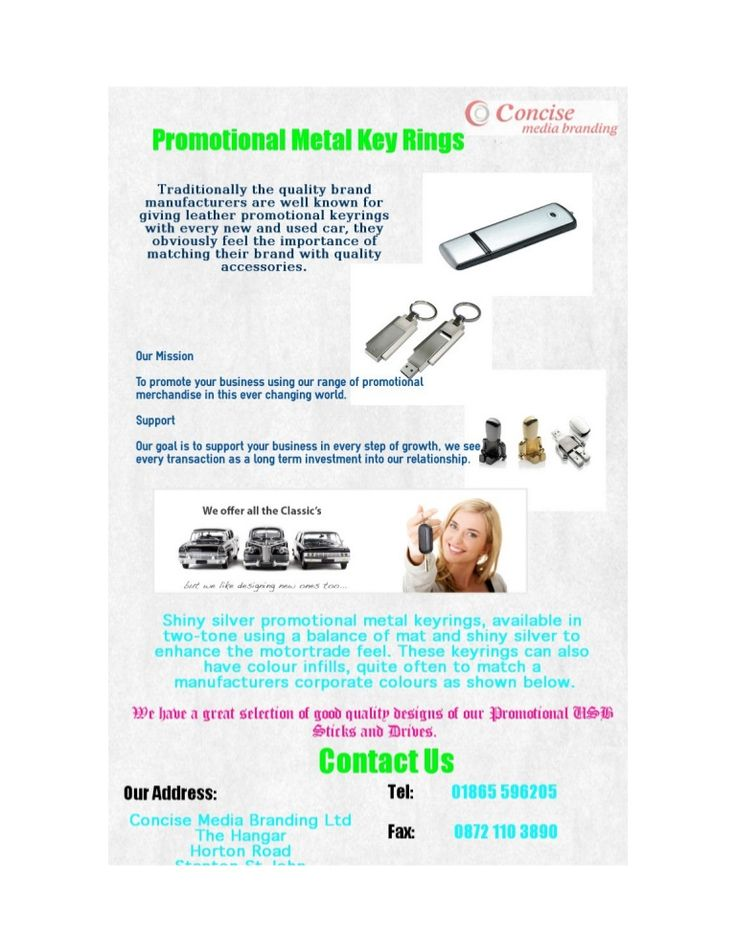 Traditionally the quality brand manufacturers are well known for giving leather promotional keyrings with every new and used car, they obviously feel the importance of matching their brand with quality accessories.