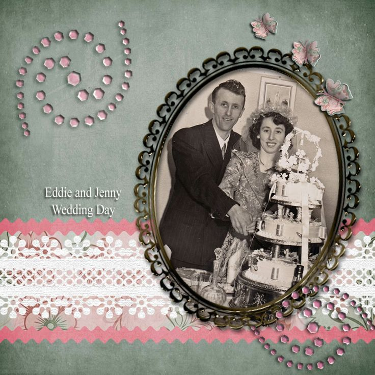 Eddie and Janr Wedding Day