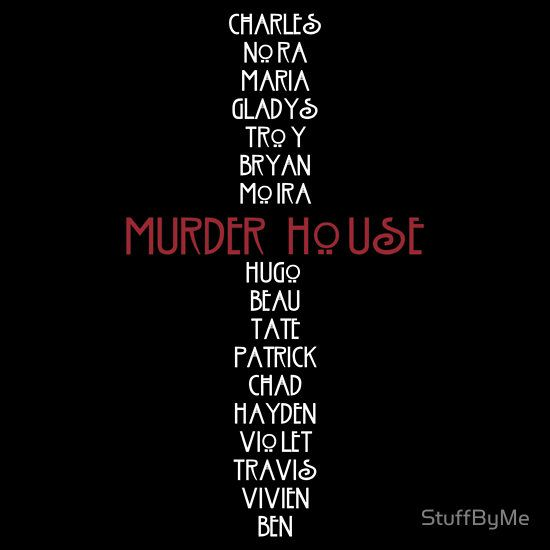 American Horror Story - Murder House victims