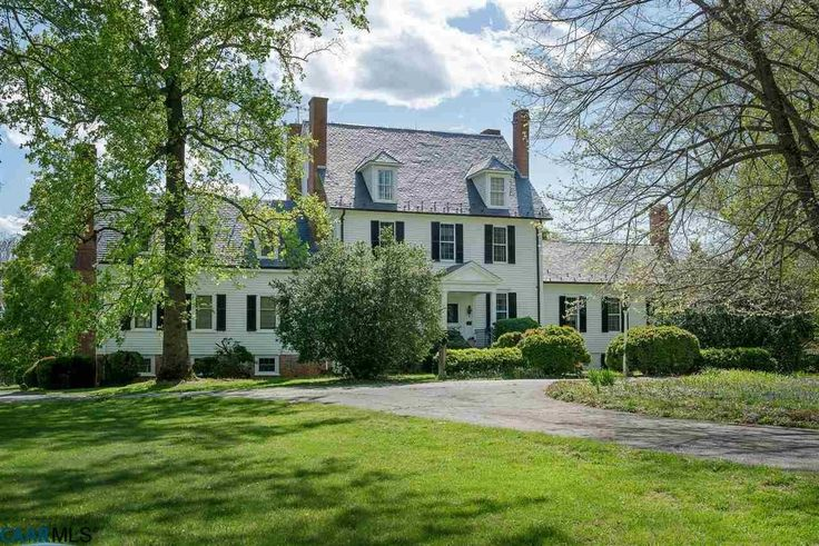 OLD WOODVILLE - Being offered for sale for the first time in over 75 years, this magnificent 166+/- acre historic estate is nestled among other notable farms & estates in Albemarle County's estate di