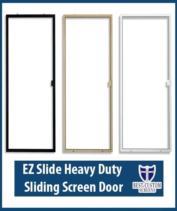 Heavy Duty Sliding Screen Doors Archives Best Custom Screens Blinds In 2020 Sliding Screen Doors Screen Door Door Installation