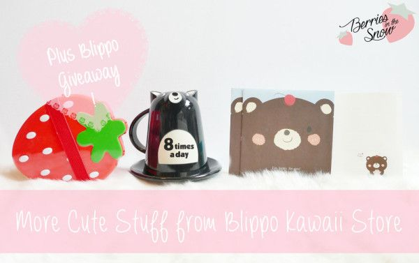 More Cute Stuff From Blippo Kawaii Store and Giveaway