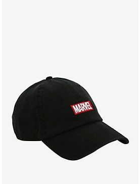 53f6261a872 Marvel Logo Dad Hat