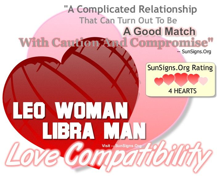 Leo Woman And Libra Man - A Complicated But Good Match | SunSigns.Org