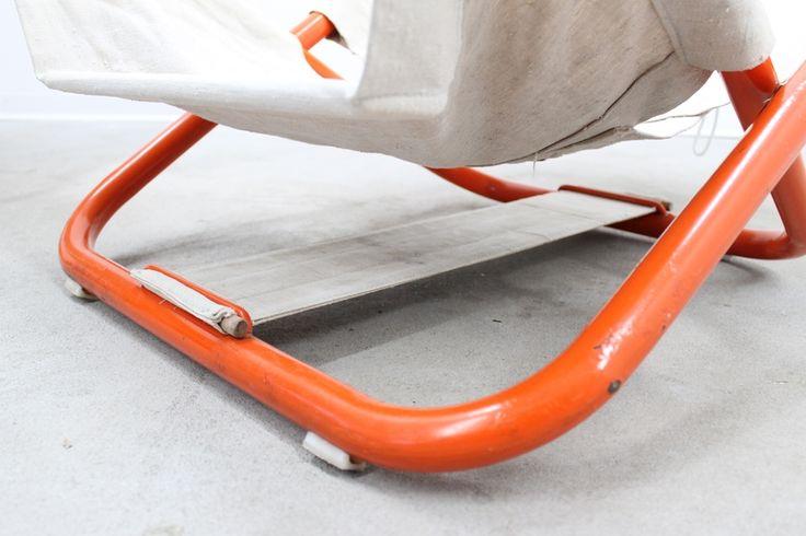 Sedie a sdraio design anni 70