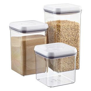 "Good Grips® 6"" Square POP Canisters - perfect for flour, sugar & brown sugar!"