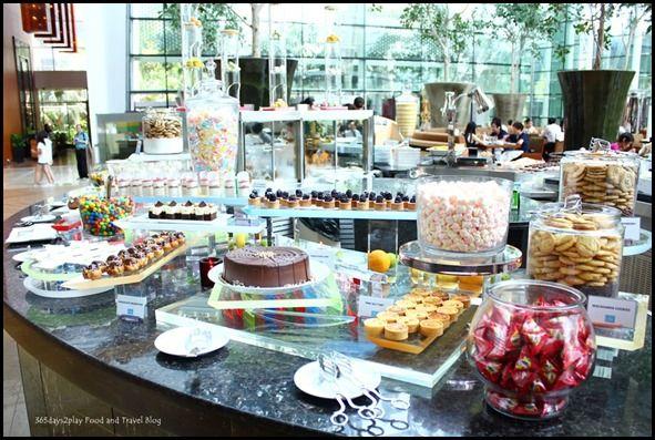 Rise Restaurant Marina Bay Sands - Dessert Station