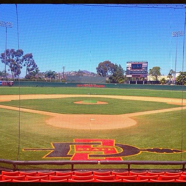 One of my favorite places to catch a NCAA Baseball game! Tony Gwynn Stadium on the Campus of San Diego State University!