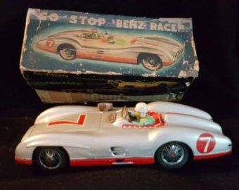 Go stop mercedes racer mint tin toy -       Edit Listing   - Etsy