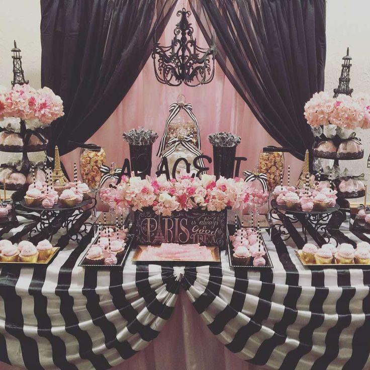 25 Best Ideas About Parisian Birthday Party On Pinterest