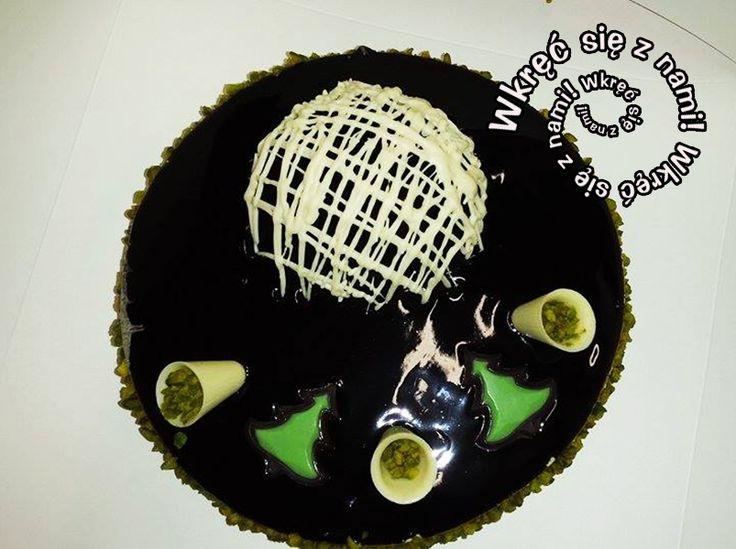 Tort pistacjowy w całej okazałości :) #Tortpistacjowy #Pistacja #Tort #Ciasta #Cafegóralodowa #Góralodowa #Słupsk #Ustka