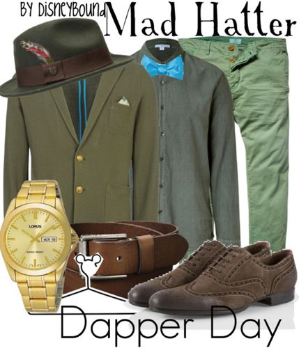 Dapper day would be so much easier if I was a guy.  Mad Hatter - Dapper Day (Male)