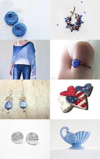B L U E by Gwen on Etsy--Pinned with TreasuryPin.com