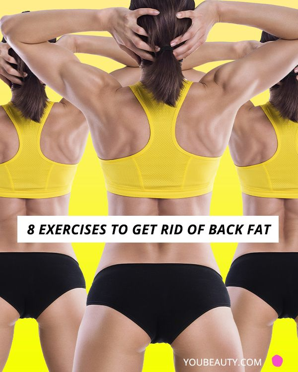If back fat is one of your biggest body hang-ups, focusing on strengthening that area is key—and yet, it's often overlooked.