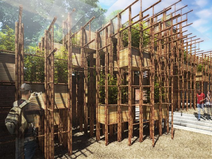 "Galería - Vo Trong Nghia presenta su pabellón de bambú para el evento ""Estructuras Fugitivas"" - 8"