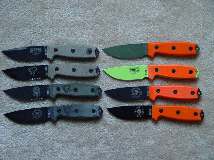 Esee-3 with custom scales