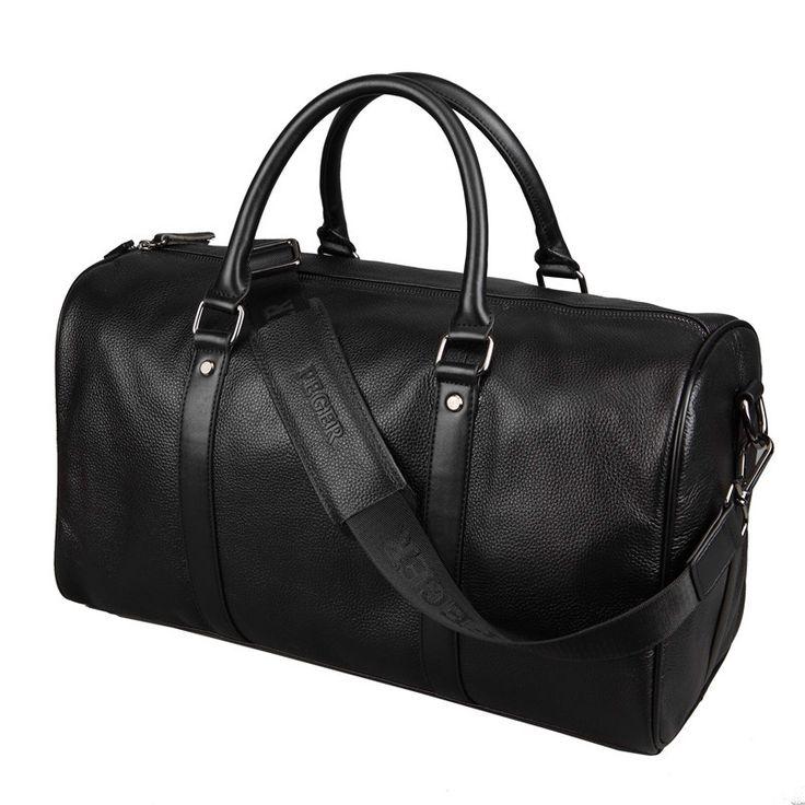 Men Travel Bag Genuine Leather; Large Capacity Luggage; Waterproof Weekend Duffle Bag