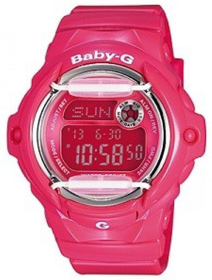Casio Baby-G Pink World Time BG-169R-4B Womens Watch