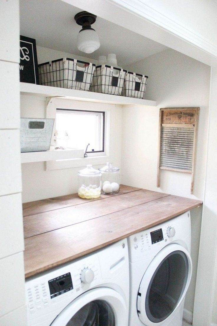 34 Laundry Storage And Organization Ideas