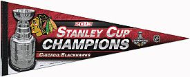 Wincraft Chicago Blackhawks 2013 Stanley Cup Champions 12x30 Premium Pennant at Fanzz