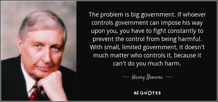 """Corporations are the ones who have created the whole, """"Big government is the problem"""" myth.  Because, only big government can stand up to Big Business so, corporations have funded and now control the Republican party.  The corporate-controlled GOP has made weakening the government their number one concern so that corporate robber-barrons can control the entire government."""