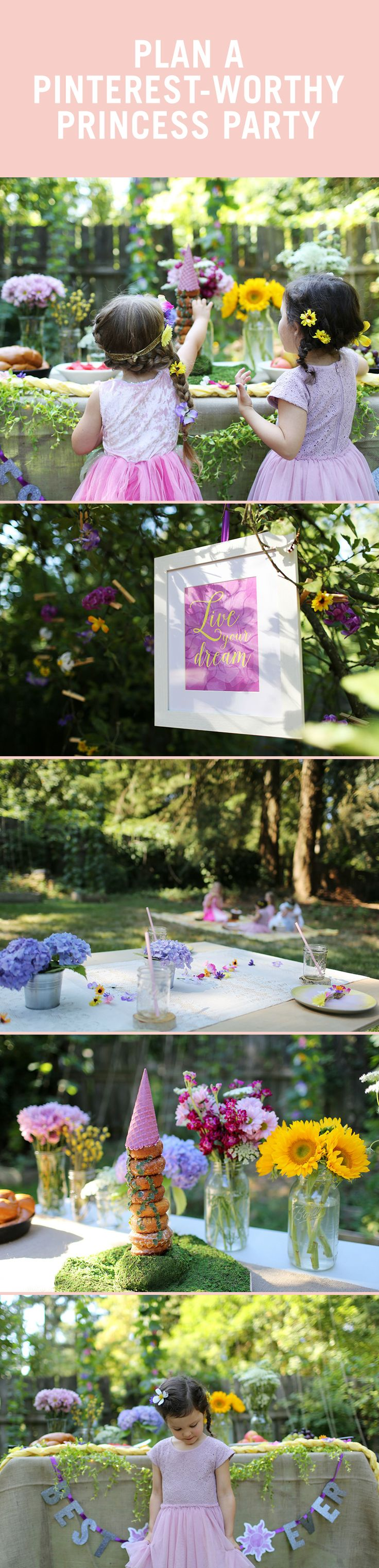 how to plan a pinterest worthy princess party on a budget - Disney Princess Games And Activities