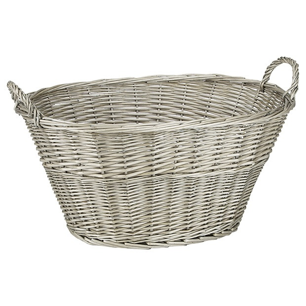 Provence Willow Laundry Basket - Target Australia
