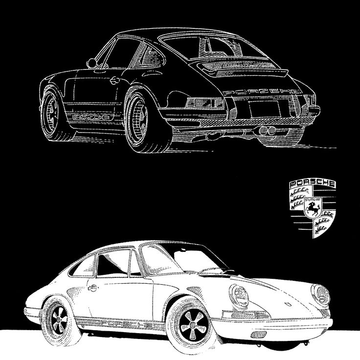 Porsche Singer/911R  #line #art #character #design #model #illustration #best #concept #animation #drawing #archive #library #pen #paper #reference #oldschool #draw #artist #creative #conceptart #automotive #cars #classics #retro #porsche #singer #911R #tegnepeter #heydenreich