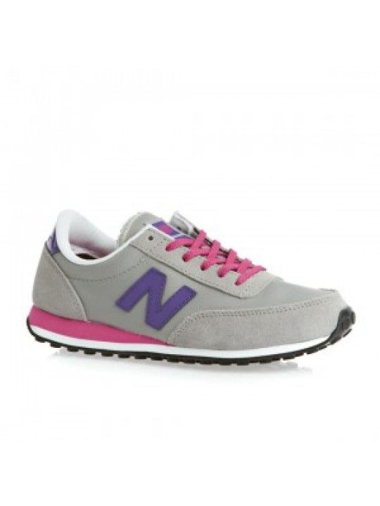 New Balance Ul410 Women's Trainers Grey-Purple-Pink{iwy3F}