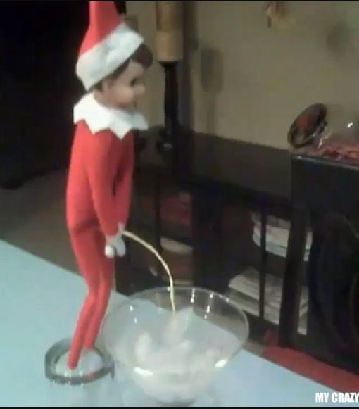 17 best images about funny elf on a shelf and funny barbie for Elf on the shelf pooping on cookies