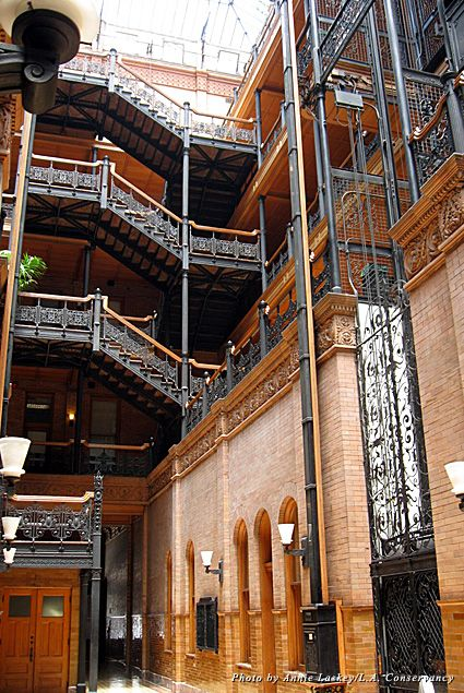 49 Best Images About Bradbury Building Los Angeles On Pinterest Statue Of 500 Days Of Summer