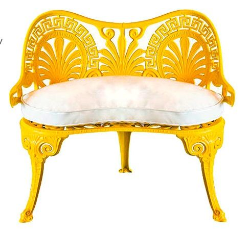 Have a bit of sunshine, won't you? Would be awesome to have some of these on the barn porch in different colors!