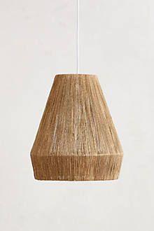 Bungalow Pendant Lamp, Small - anthropologie.com