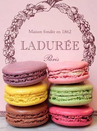 After finishing all six seasons of Gossip Girl, I'm dying to try some macaroons.