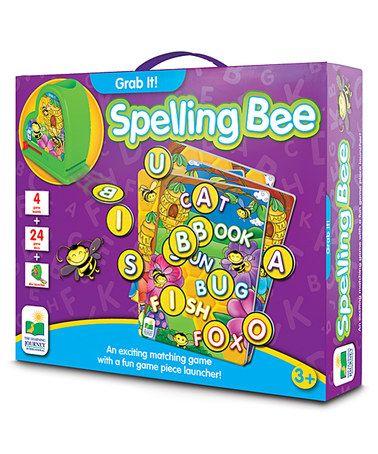 Look at this #zulilyfind! Grab It! Spelling Bee Game #zulilyfinds