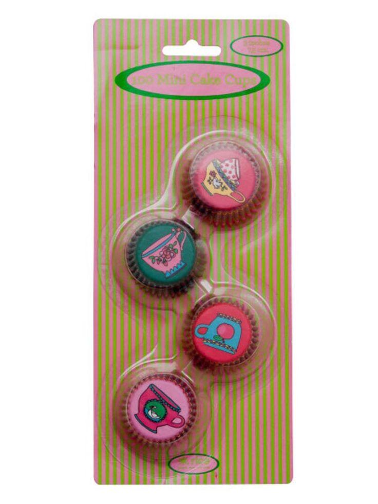 Pienet värikkäät muffinssivuoat 2€