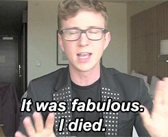 Tyler Oakley Funny Quotes | ... Bell TylerOakley Tyler Oakley vmas laurenedit tyler oakley is perfect