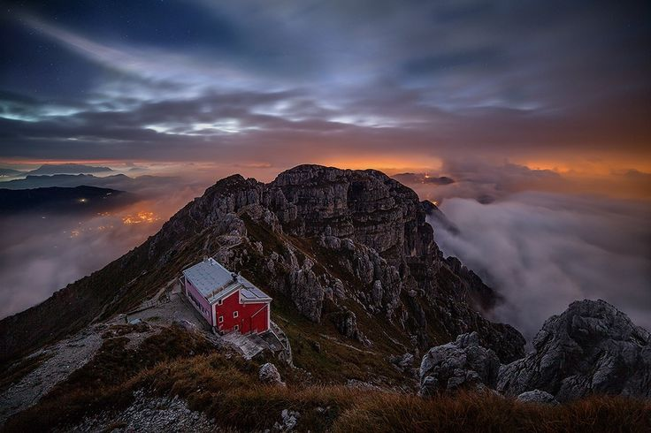 In the night - Monte Resegone,Lecco