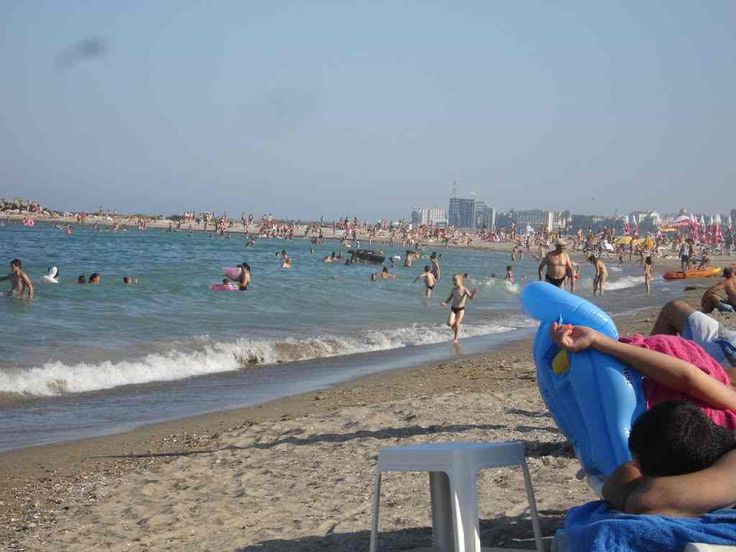 Constanta plaja, vedere spre Modern