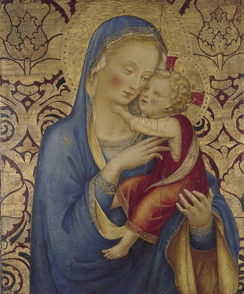 Madonna and Child, Fra Angelico. Italian, (ca 1400-1455)