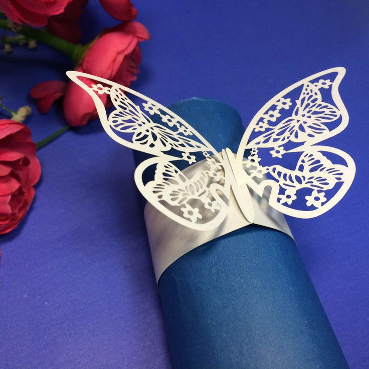 Cheap christmas basket decoration, Buy Quality decor directly from China christmas decorations print Suppliers:                                               12Pcs Elegant White Butterfly Paper Napkin Ring Holder Wedding Chris