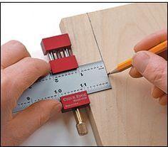 Herramienta de encuadernación – Czeck Edge™ Ruler Stop: Bookbinding tools